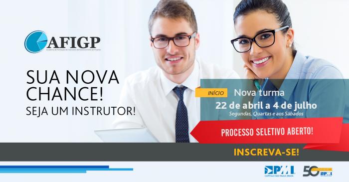 AFIGP - Instrutor Gerenciamento de Projetos