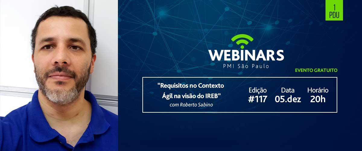 """Webinar: """"Requisitos no Contexto Ágil na visão do IREB"""